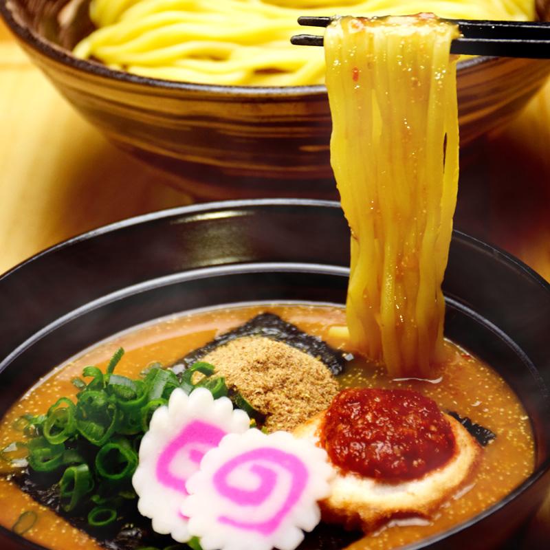めんたい煮こみつけ麺セット